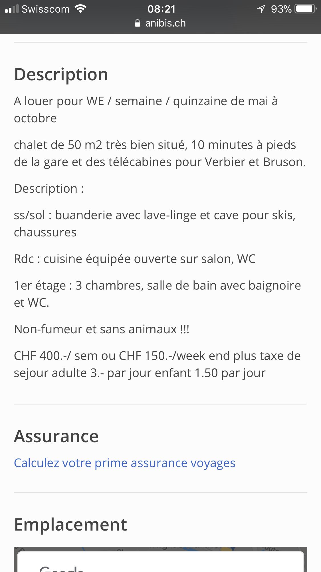 Salle De Bain Valais ~ a louer chalet au chable valais generations plus ch