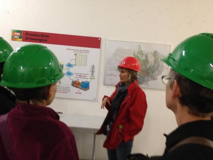 Image de visite de l'usine Tridel de Lausanne