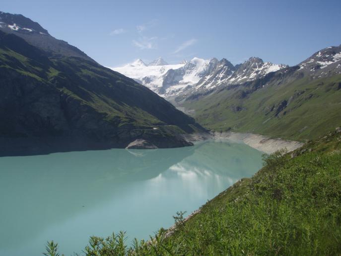 Image de A la rencontre des edelweis en direction du  lac des Autannes dans le val d'anniviers