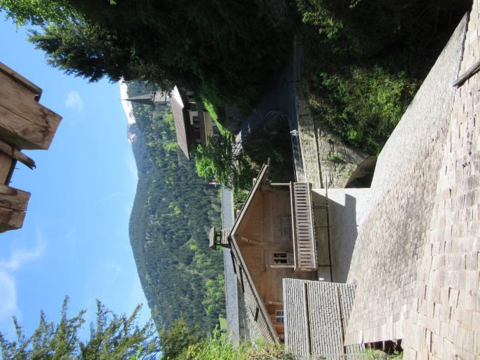 Image de un site exceptionnel dans les gorges de la Tine