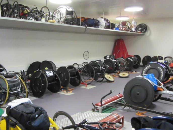 Image de visite du centre pour paraplégiques de Nottwil
