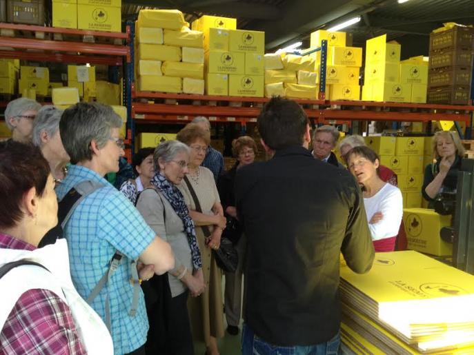 Image de visite de l'usine de torréfaction de La Semeuse à La Chaux de Fonds