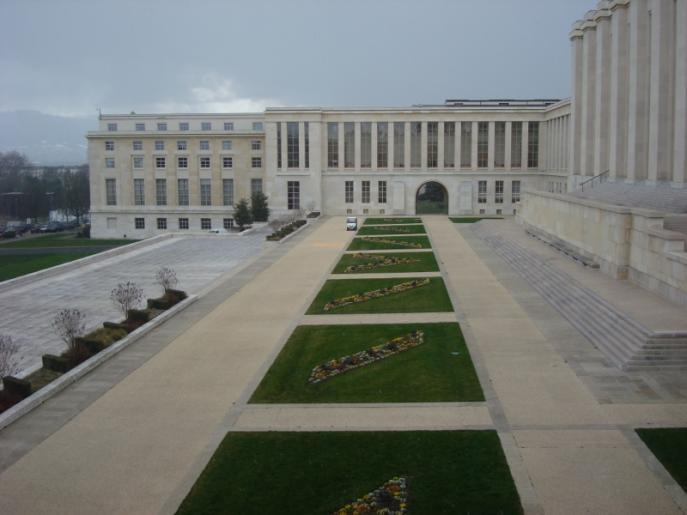 Image de visite guidée du Palais des Nations Unies à Genève