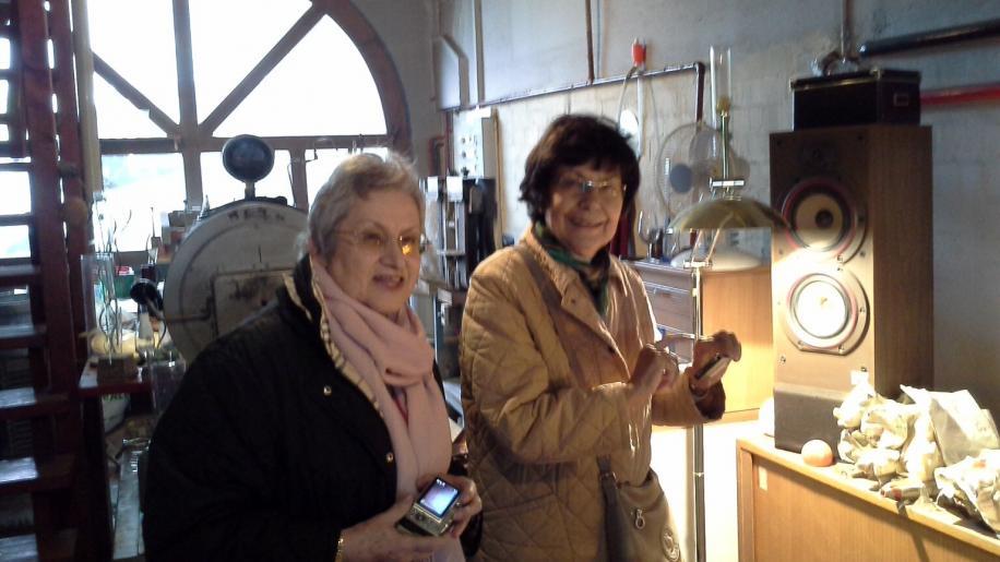Image de Visite de l'atelier d'un souffleur de verre