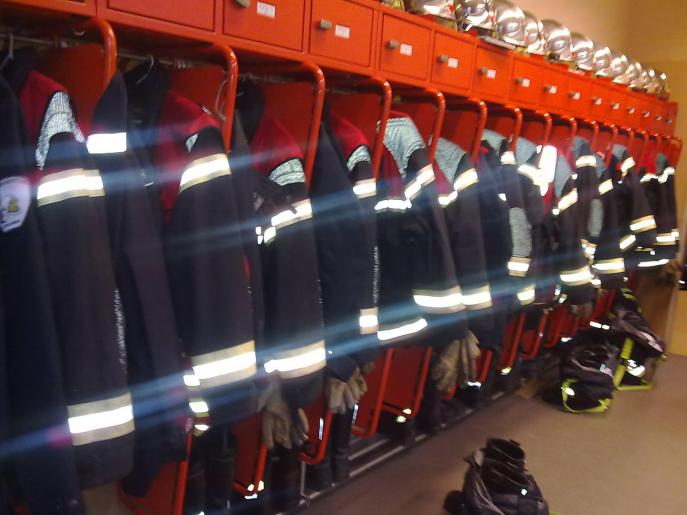 Image de Visite de la caserne des pompiers, Lausanne