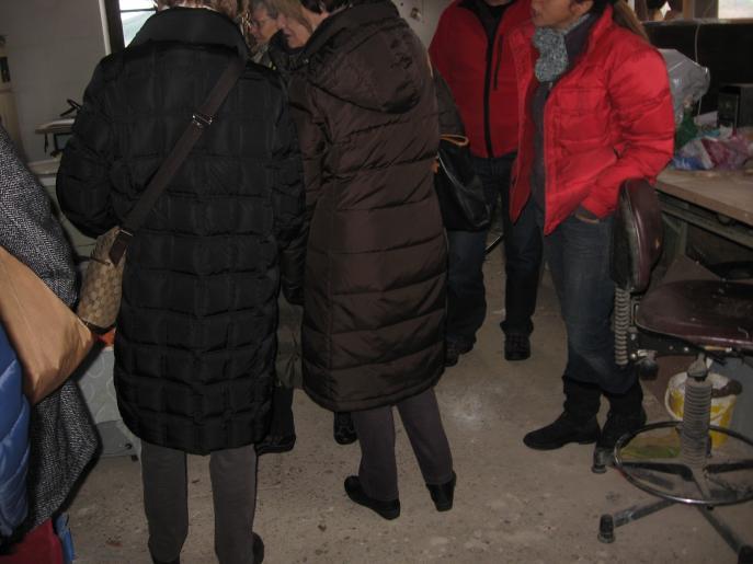 Image de Visite de l'atelier d'une fondeuse d'art