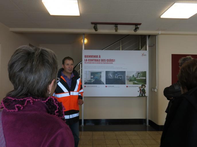 Image de Visite d'une centrale hydraulique