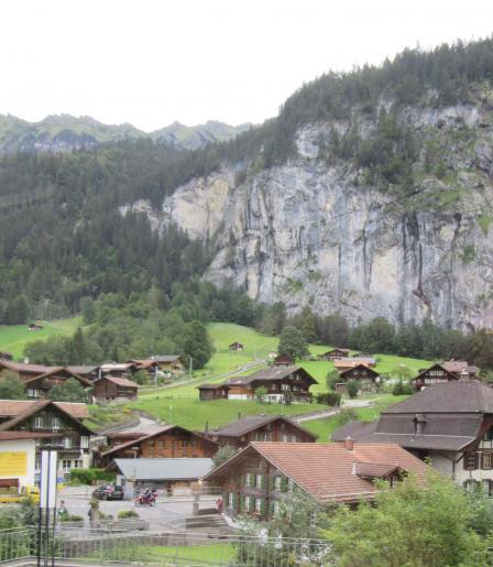 Image de Balade aux chutes du Trümmelbach