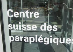 Image de l'activite visite du centre pour paraplégiques de Nottwil