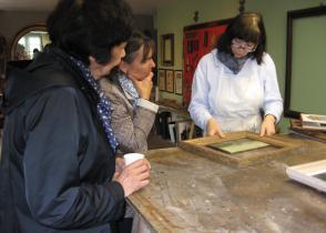 Image de l'activite Visite d'un atelier d'art, dorures sur bois et encadrements