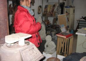 Image de l'activite Visite de l'atelier d'une fondeuse d'art