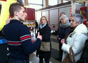 Image de l'activite Visite de la caserne des pompiers, Lausanne
