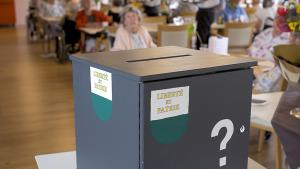 urne de votation en EMS