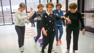 exercices d'équilibre pour seniors