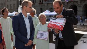 33'000 personnes réunies contre le prix exorbitant des médicaments