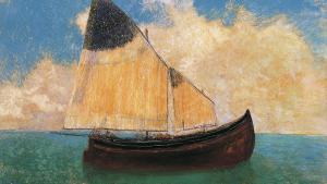 Odillon Redon, A la dérive (La barque), 1906