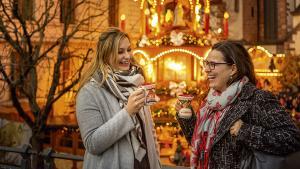 vin chaud au marché de Noël