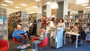Bibliothèques : ici c'est comme à la maison