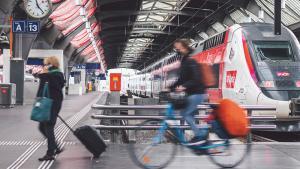 Pourquoi devrait-on réserver une place pour son vélo dans les trains?