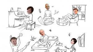 Covid-19: l'art de s'évader en chambre