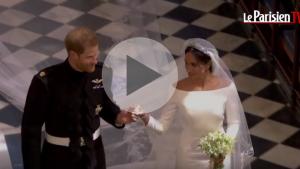 Megan et Harry retour en image sur leur mariage