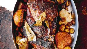 Echine de porc slow cook sauce