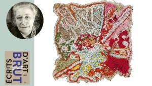 Broderies et peinture : les folles extravagances de Jeanne Tripier