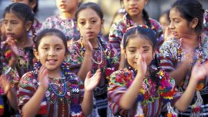 Mayas, habitants du Guatemala