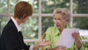 Listte 90 ans veut rédiger son testament