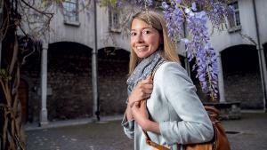 Johanna Gapany: «Grâce à mes parents, je me sens bien dans ce que je fais»