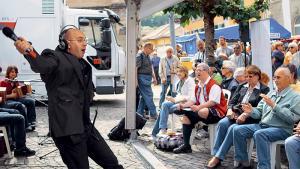 Jean-Marc Richard: «Le Kiosque à Musiques? C'est la musique du peuple!»