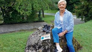 Yvette Schopfer, marathonienne à 84 ans!