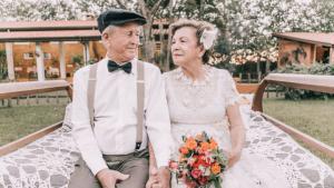 Ils font leurs photos de mariage 60 ans après leur union