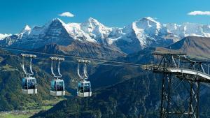 Profitez du plus beau panorama de l'Oberland bernois