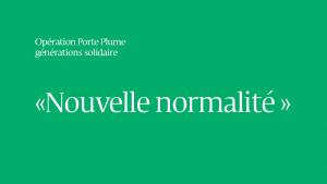 OPERATION PORTE PLUME, la lettre de Patricia