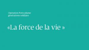 OPERATION PORTE PLUME La lettre de Marie-Jeanne Van Lierde