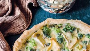 La quiche brocoli et camembert