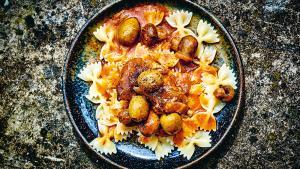 Ragoût de veau à la Corse