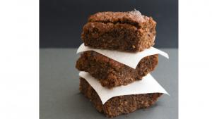 Brownie à la farine de grillons