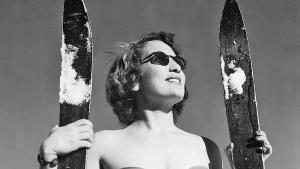 Les joies du ski  d'antan