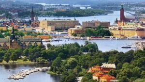 A Stockholm, d'île en île