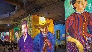 On se sent petit chez Van Gogh