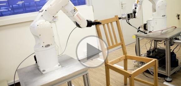 Et voilà le robot bricoleur