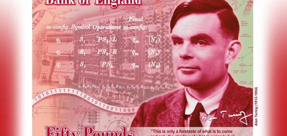 Alan Turing sur les billets de 50 livres