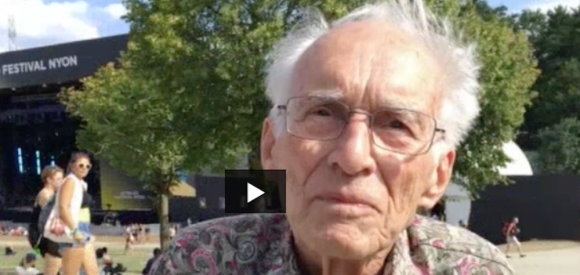 A 100 ans, ce Nyonnais découvre le Paléo