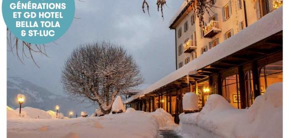 Concours: gagnez un séjour magique au cœur du Valais