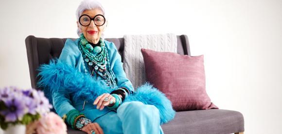 Iris Apfel, la mamie qui a du style !