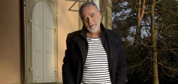 Le plus beau senior de Suisse romande expose ses oeuvres