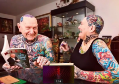Les seniors les plus tatoués du monde!