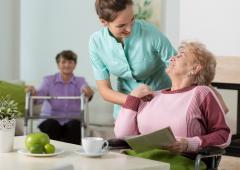 Les pensionnaires satisfaits des EMS suisses